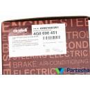 AUDI A6 Avant (4G5, 4GD, C7) Brake Pad Set, disc brake (4G0698451)